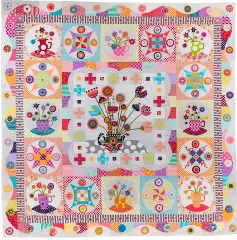 Tea Party Quilt Pattern Book