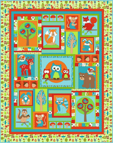 Kids Quilts - Woodland Park