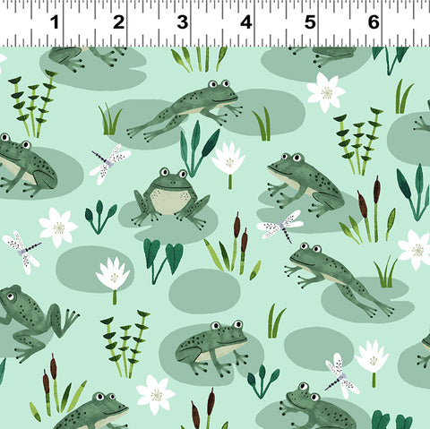 Woodland Wander - Frogs on Lilypads