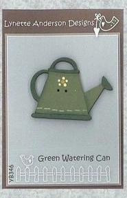 Lynette Anderson  Green Watering Can Button Pack