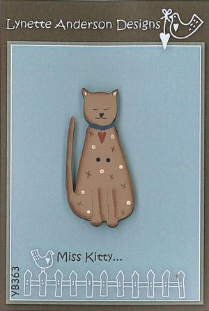 Lynette Anderson's Miss Kitty Button pack