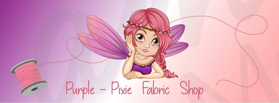 Purple-Pixie Fabric and Craft