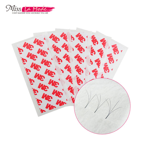 Puasa nga Volume Fan 3M Tape alang sa Eyelash Extension Makeup Tool 5pcs / bag
