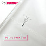 Fan Bann-Fast Fan 3M airson Inneal Makeup Eye -sh Extension 5pcs / bag - Misslamode