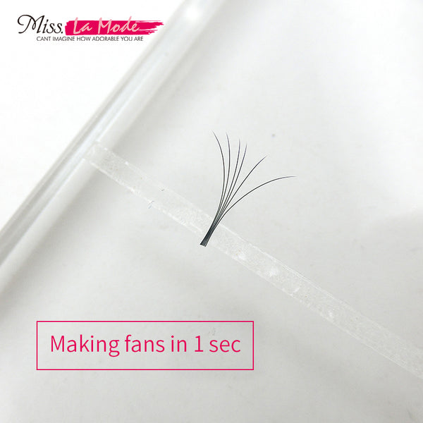 Fast Volume Fan 3M Tape til Eyelash Extension Makeup Tool 5pcs / taske - Misslamode