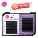 Y-Tips Super Matte Flat Lash Extensions 16 Rows