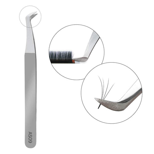 3D 6D Volume Lash Extension pinset AS09