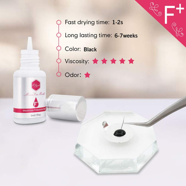 F Plus Adhesive 5ml (Retention 6-7 Weeks) - Misslamode