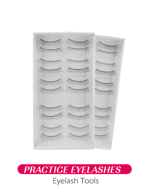 Misslamode Eyelash extension tranining false eyelashes use for lash extension traning - Misslamode
