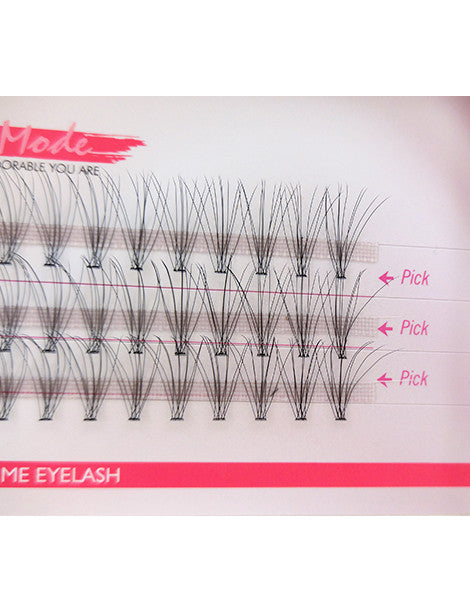 Missamode 0.05mm 10 Hairs Rapid Cluser Eyelash - Misslamode