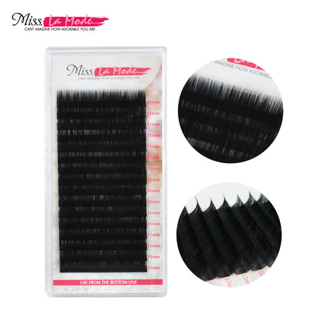 Misslamode 4 pcs 0.07mm Eyelash Extensions C Curl