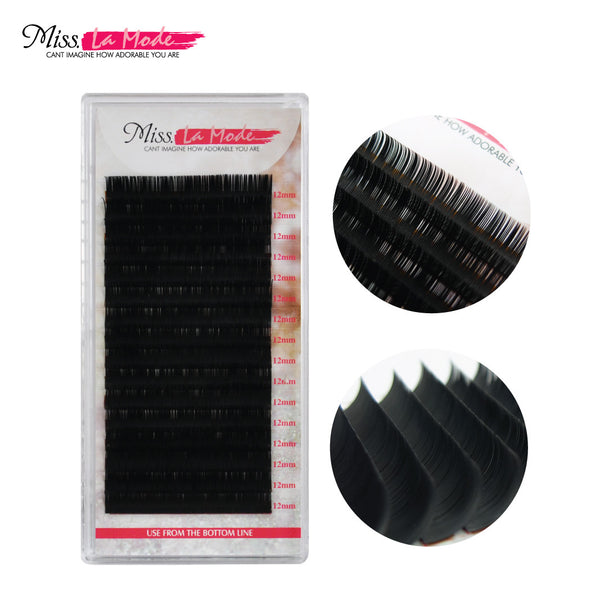Misslamode 0.25mm Eyelash Extensions C Curl