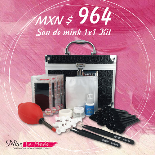 Misslamode Eyelash Extension Multifunctional Tools Kit dengan Accessories Quality Eyelash yang Perlu - Misslamode