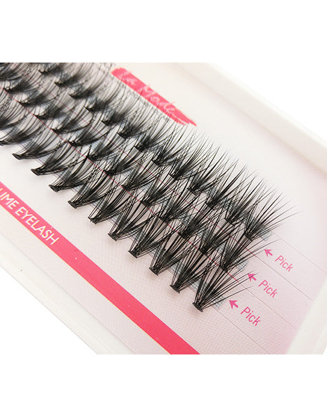 Missamode 0.10mm 20 Hairs Rapid Cluser Eyelash - Misslamode