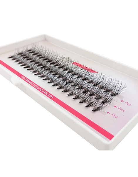 Misslamode 0.05mm 20 Hairs Rapid Cluser Eyelash - Misslamode