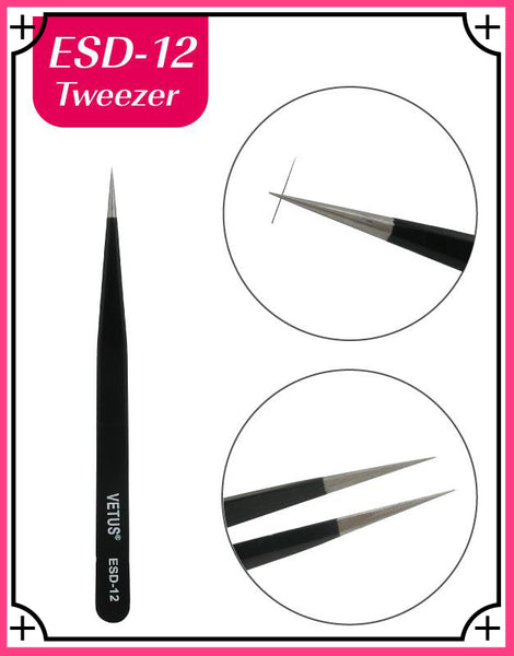 Misslamode ESDXNUMX  Anti static best tweezers for eyelash extension tools - Misslamode