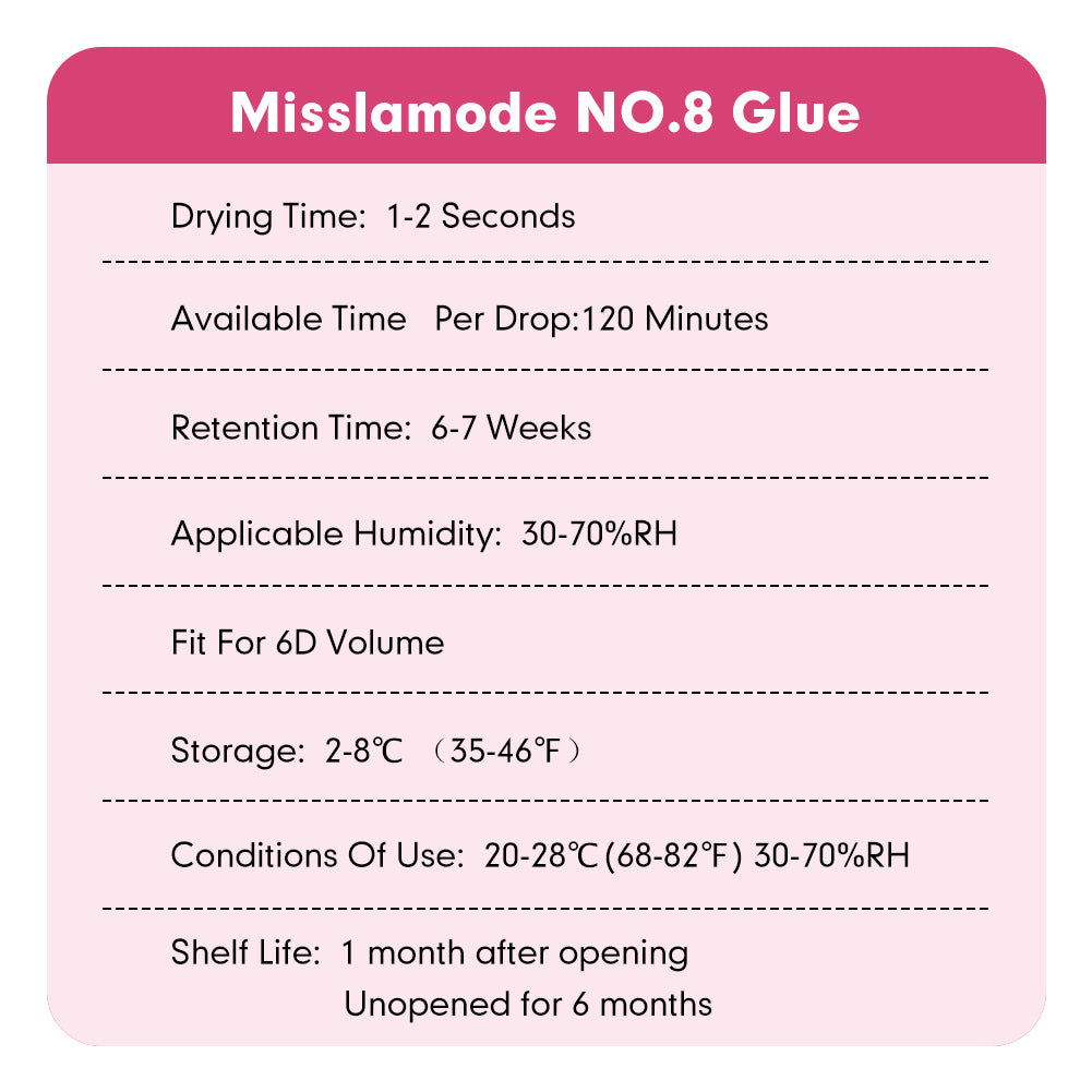 No.8 Glue 10ml (30% -70% Humidity)
