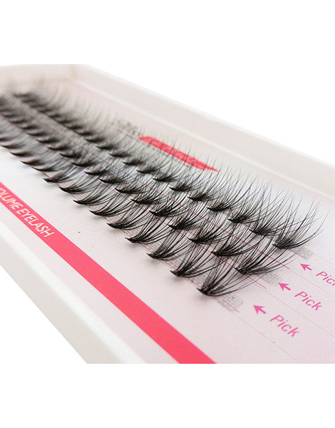 Misslamode 0.07mm 20 Hairs Rapid Cluser Eyelash - Misslamode