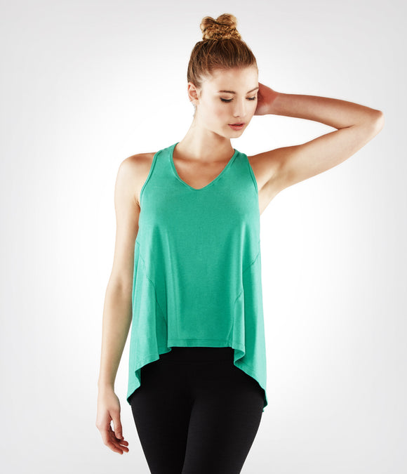 Manduka Adorn Flow Tank - Light Jade