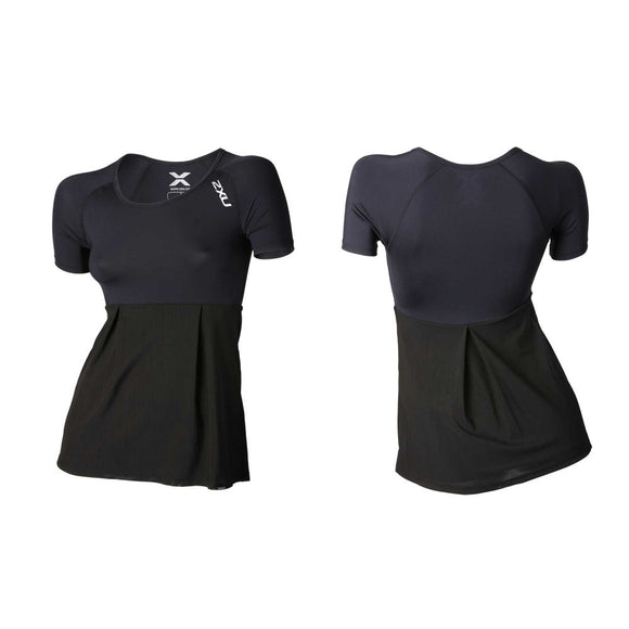 2XU Women's Double-Layered Compression Short Sleeve Top