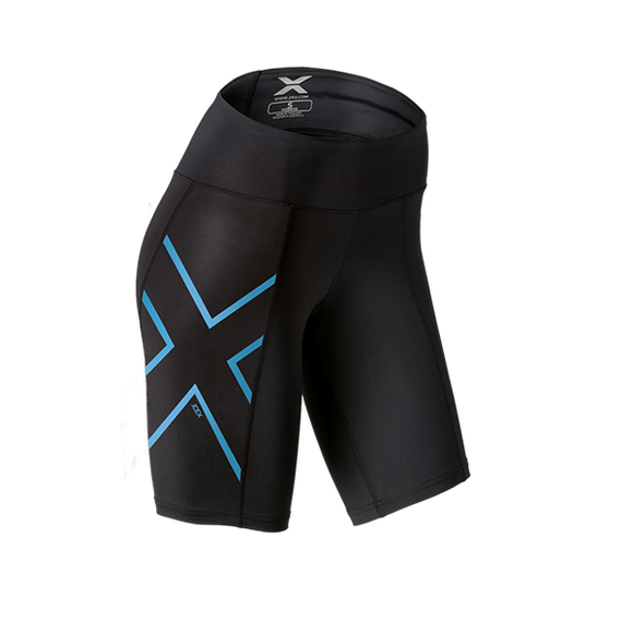 2XU Women's ICE Mid-Rise Compression Shorts