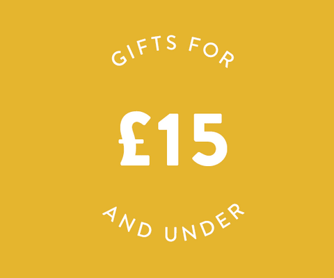 thoughtful gift ideas under £15