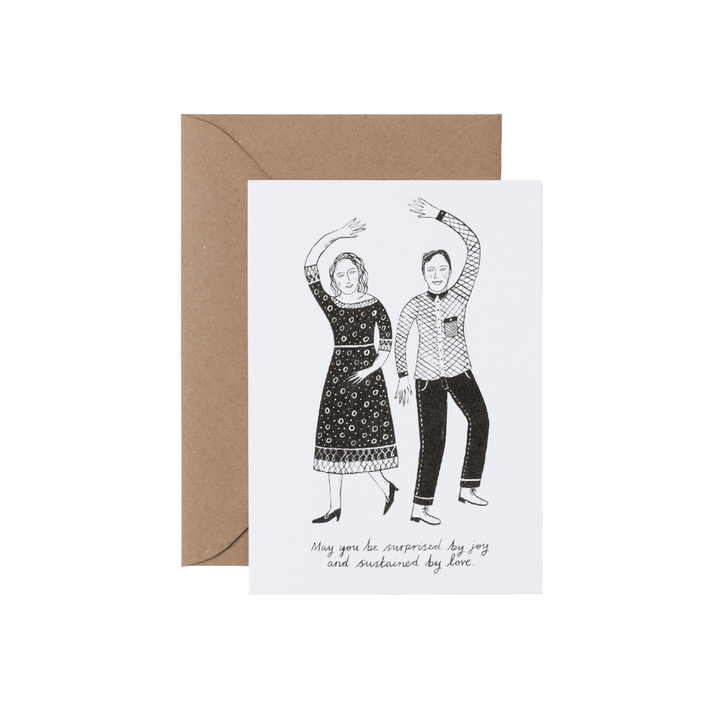 Sustained by joy greetings card