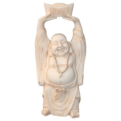 Buddha 39cm Laughing / Happy Standing - Soul Array - South Africa