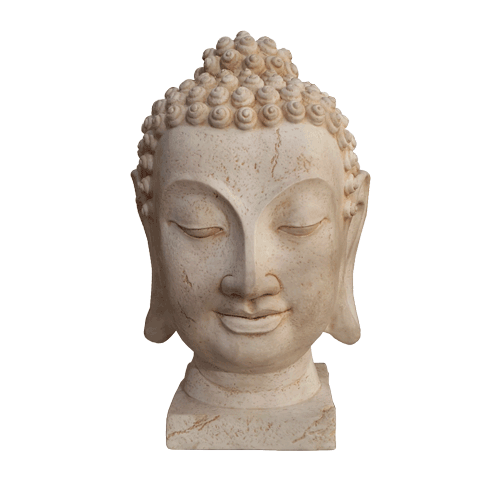 Thai Style Buddha Head 35cm - Soul Array - South Africa