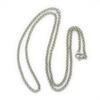 Turquenite Pendant (Alloy Bail) on Stainless Steel Chain
