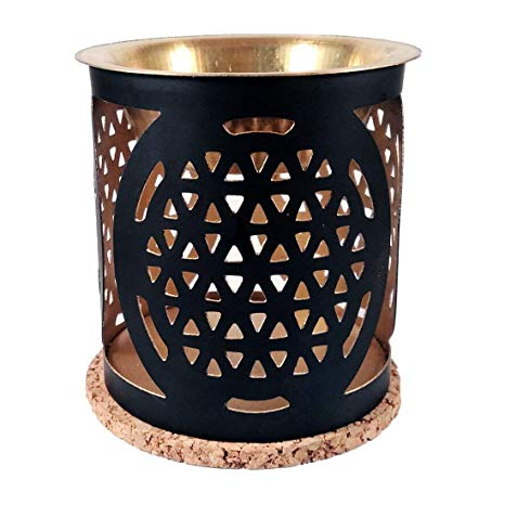 Aromafume Oil Burner - Flower Of Life
