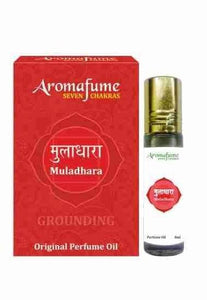 Aromafume 7 Chakra - Roll On Perfume Oil - Muladhara Root - NEW**