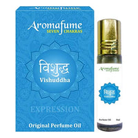 Aromafume 7 Chakra - Roll On Perfume Oil - Vishuddha Throat - NEW**