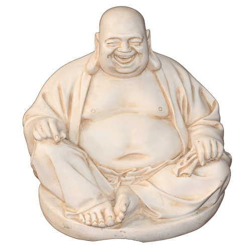 Buddha 29cm Laughing / Happy Sitting - Soul Array - South Africa