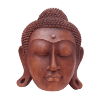 Thai Style Buddha Head Wall Hanging 36cm - Soul Array - South Africa