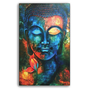 Blue Buddha - Wall Art