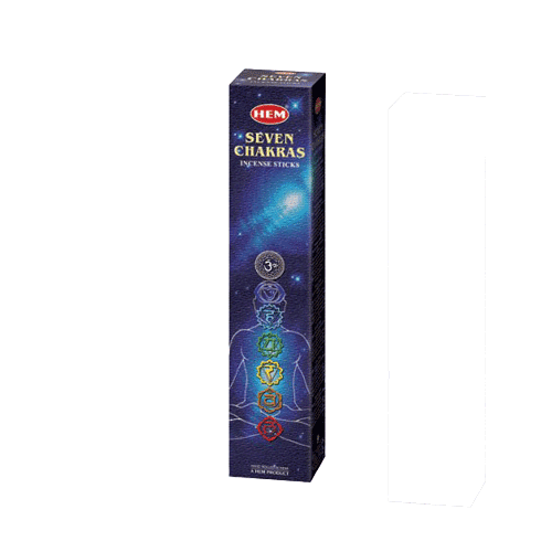 Seven Chakra Incense - Multi Fragrance - Soul Array - South Africa