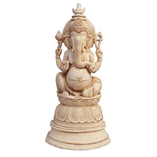 Ganesha 35cm Pedestal - Soul Array - South Africa