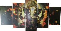 Ganesha Galaxy - 5 Piece Wall Art Set