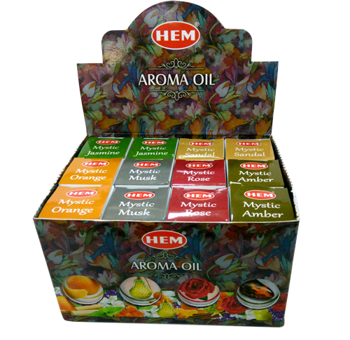 HEM Mystic Oil - Mixed Box (12 x 10ml) - Soul Array - South Africa