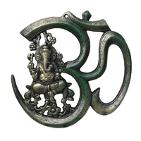 OM Hindi 27cm Ganesha_Green