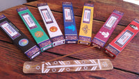 * Spiritual Incense Bundle & Flat Burner