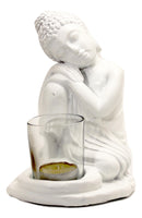 Resting Buddha candle holder - NEW - 17cm