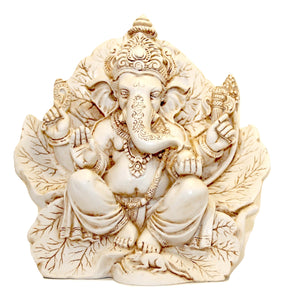 * Ganesh on Peepal Leaf - NEW
