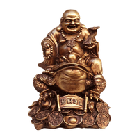 Buddha 23cm Laughing Buddha on Money Frog - Soul Array - South Africa