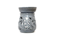 Soapstone Oil Burner - Fancy