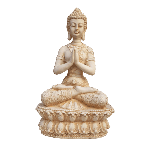 Thai Style Namaste Buddha Statue *Sitting 33cm - Soul Array - South Africa
