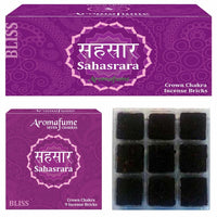 Sahasrara - Crown Chakra - Exotic Incense Bricks