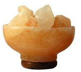 Himalayan Salt Lamp - Fire Bowl Shaped
