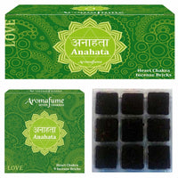 Anahata - Heart Chakra - Exotic Incense Bricks